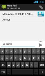 Bouygues Telecom Bs 401 - Contact, Appels, SMS/MMS - Envoyer un MMS - Étape 12