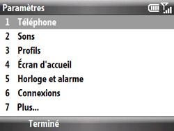 HTC S521 Snap - SMS - Configuration manuelle - Étape 4