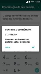 Alcatel Pop 3 - Aplicações - Como configurar o WhatsApp -  7