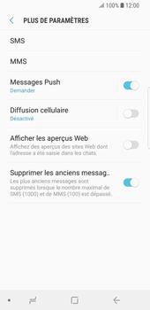 Samsung Galaxy S9 - SMS - Configuration manuelle - Étape 7