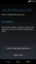 Motorola Moto G - Primeiros passos - Como ativar seu aparelho - Etapa 9