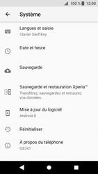 Sony Xperia XZ1 - Device maintenance - Retour aux réglages usine - Étape 6