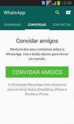 Samsung Galaxy Fresh Duos - Aplicações - Como configurar o WhatsApp -  11