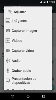 Motorola Moto X Play - Mensajería - Escribir y enviar un mensaje multimedia - Paso 12