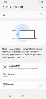 Samsung Galaxy A50 - Internet - mijn data verbinding delen - Stap 7