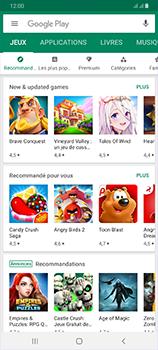 Samsung Galaxy A70 - Applications - comment vérifier si des mises à jour sont disponibles pour l'appli - Étape 4