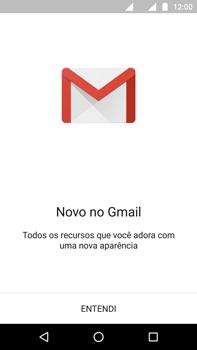 Motorola Moto G (4ª Geração) - Email - Como configurar seu celular para receber e enviar e-mails - Etapa 4