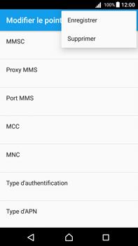 Sony Xperia Z5 Premium (E6853) - Android Nougat - Internet - Configuration manuelle - Étape 16