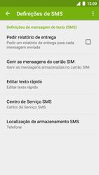 NOS NOVU II - SMS - Como configurar o centro de mensagens -  7