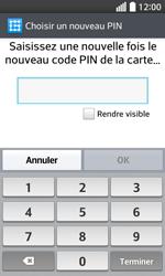 LG F70 - Sécuriser votre mobile - Activer le code de verrouillage - Étape 10