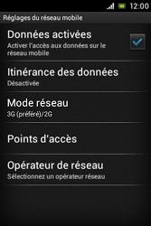 Sony C1505 Xperia E - Internet - activer ou désactiver - Étape 6