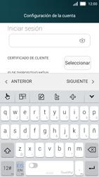 Huawei Y5 - E-mail - Configurar Outlook.com - Paso 9