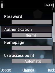 Nokia E75 - Internet - Manual configuration - Step 15