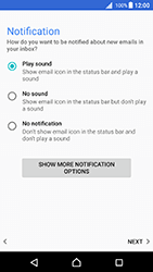 Sony Xperia X - Android Nougat - Email - Manual configuration - Step 21