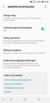 Samsung Galaxy A6 - Beveiliging - pas de pincode voor je simkaart aan - Stap 5