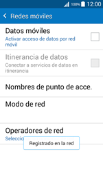 Samsung Galaxy Core Prime - Red - Seleccionar una red - Paso 10