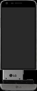 LG G5 - Primeros pasos - Quitar y colocar la batería - Paso 4