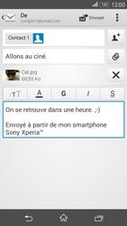 Sony Xperia E4g - E-mails - Envoyer un e-mail - Étape 14
