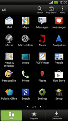 HTC S720e One X - Internet - Enable or disable - Step 3
