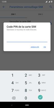 Nokia 9 - Sécurité - modifier SIM PIN - Étape 11