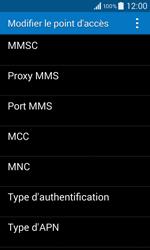 Samsung G355 Galaxy Core 2 - MMS - configuration manuelle - Étape 15