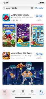Apple iPhone X - iOS 12 - Aplicações - Como pesquisar e instalar aplicações -  12