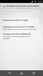 Sony Xpéria Z3 - Internet et connexion - Partager votre connexion en Wi-Fi - Étape 12