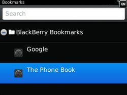 BlackBerry 9320 Curve - Internet - Internet browsing - Step 10