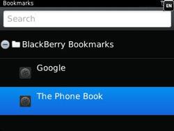 BlackBerry 9320 Curve - Internet - Internet browsing - Step 10