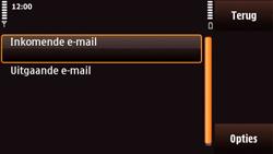 Nokia N97 Mini - E-mail - e-mail instellen: POP3 - Stap 22