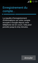 Samsung Galaxy Trend - Premiers pas - Créer un compte - Étape 22
