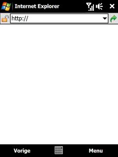 HTC P4600 Touch Pro - Internet - Hoe te internetten - Stap 19