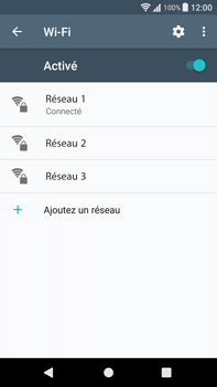 Sony Xperia XA1 Plus - WiFi et Bluetooth - Configuration manuelle - Étape 8