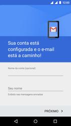 Motorola Moto E (2ª Geração) - Email - Como configurar seu celular para receber e enviar e-mails - Etapa 15