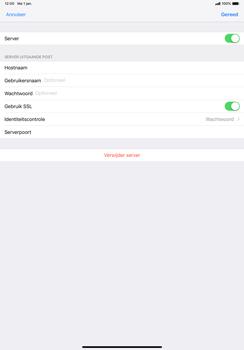 Apple ipad-pro-11-inch-2018-model-a1934 - E-mail - Account instellen (POP3 zonder SMTP-verificatie) - Stap 18