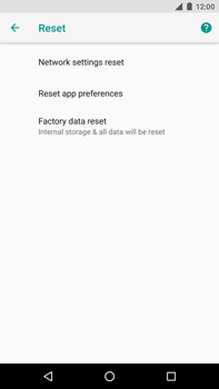 Huawei Nexus 6P - Android Oreo - Device - Reset to factory settings - Step 7