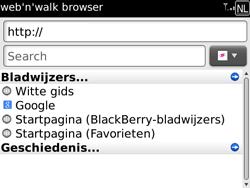 BlackBerry 9700 Bold - Internet - Hoe te internetten - Stap 12