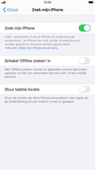 Apple iphone-6s-plus-met-ios-13-model-a1687 - Beveiliging en ouderlijk toezicht - Zoek mijn iPhone inschakelen - Stap 12