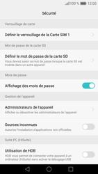 Huawei P9 Lite - Sécuriser votre mobile - Personnaliser le code PIN de votre carte SIM - Étape 6