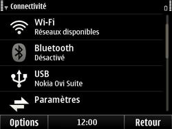 Nokia E6-00 - Wifi - configuration manuelle - Étape 4