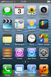 Apple iPhone 4 S iOS 6 - Network - Usage across the border - Step 7
