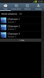 Samsung Galaxy S3 4G - Photos, vidéos, musique - Ecouter de la musique - Étape 4