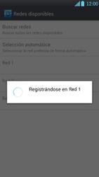 LG Optimus L9 - Red - Seleccionar una red - Paso 10