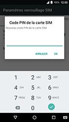Crosscall Action X3 - Sécuriser votre mobile - Personnaliser le code PIN de votre carte SIM - Étape 8