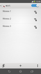 Sony Xpéria M2 - Internet et connexion - Accéder au réseau Wi-Fi - Étape 6