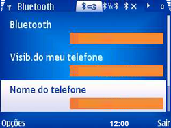 Nokia E5-00 - Bluetooth - Como ajustar configurações do Bluetooth - Etapa 9