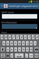 Samsung S6810P Galaxy Fame - E-mail - Handmatig instellen - Stap 13