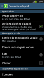 Samsung G386F Galaxy Core LTE - Messagerie vocale - configuration manuelle - Étape 7