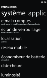 Nokia Lumia 610 - E-mail - Configuration manuelle - Étape 4