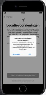 Apple iPhone 6s met iOS 11 (Model A1688) - Instellingen aanpassen - Activeer het toestel en herstel jouw iCloud-data - Stap 24